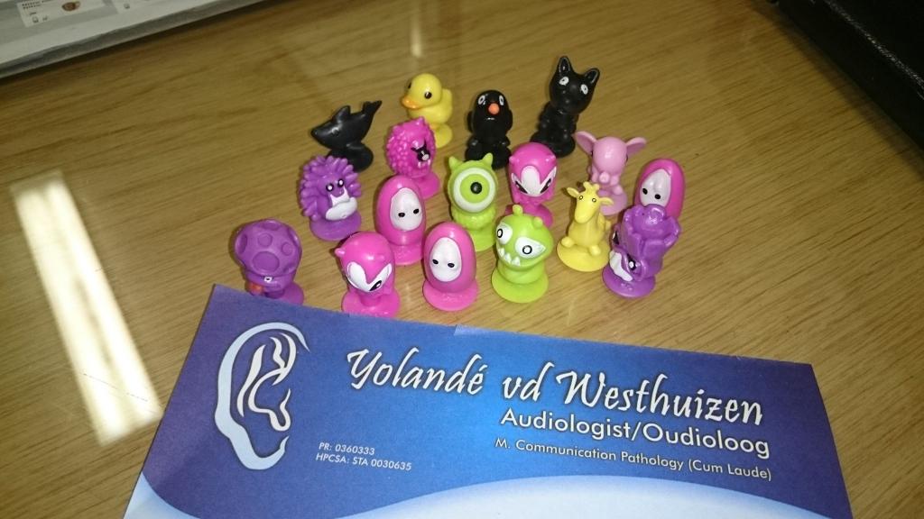 Yolande van der Westhuizen Audiology - cancer kids stikeez1