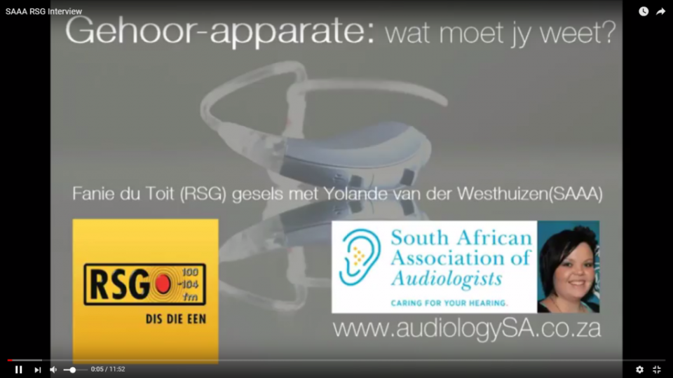 YVDW Audiologists-Yolande about hearing and hearing aids on RSG, hearing test