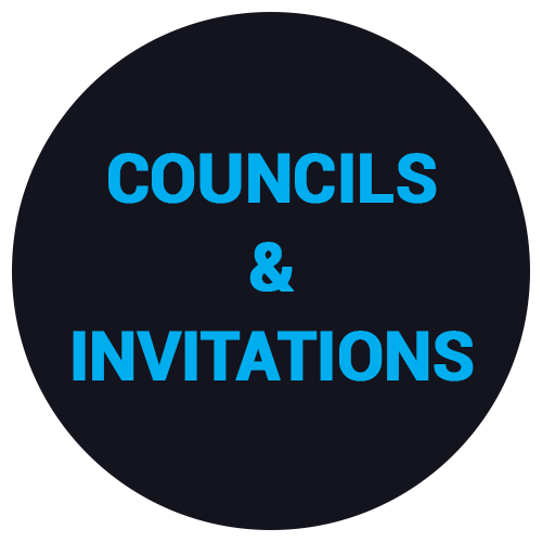 COUNCILS-&-INVITATIONS
