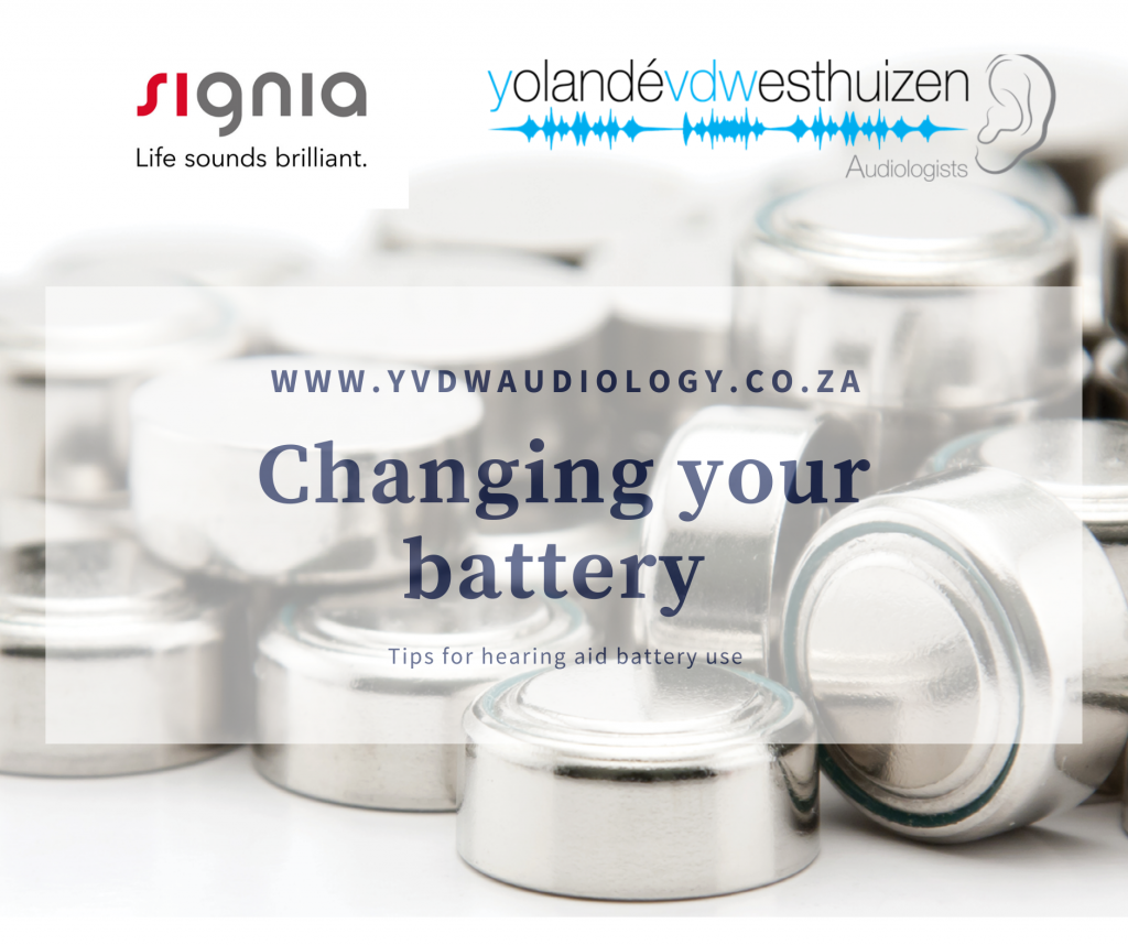 How To Change Or Charge Your Signia Batteries Yolande Van Der Westhuizen Audiologists